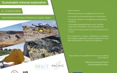 INFACT-PACIFIC Winter School: A successful first edition of sustainable mineral exploration short-course in Spain